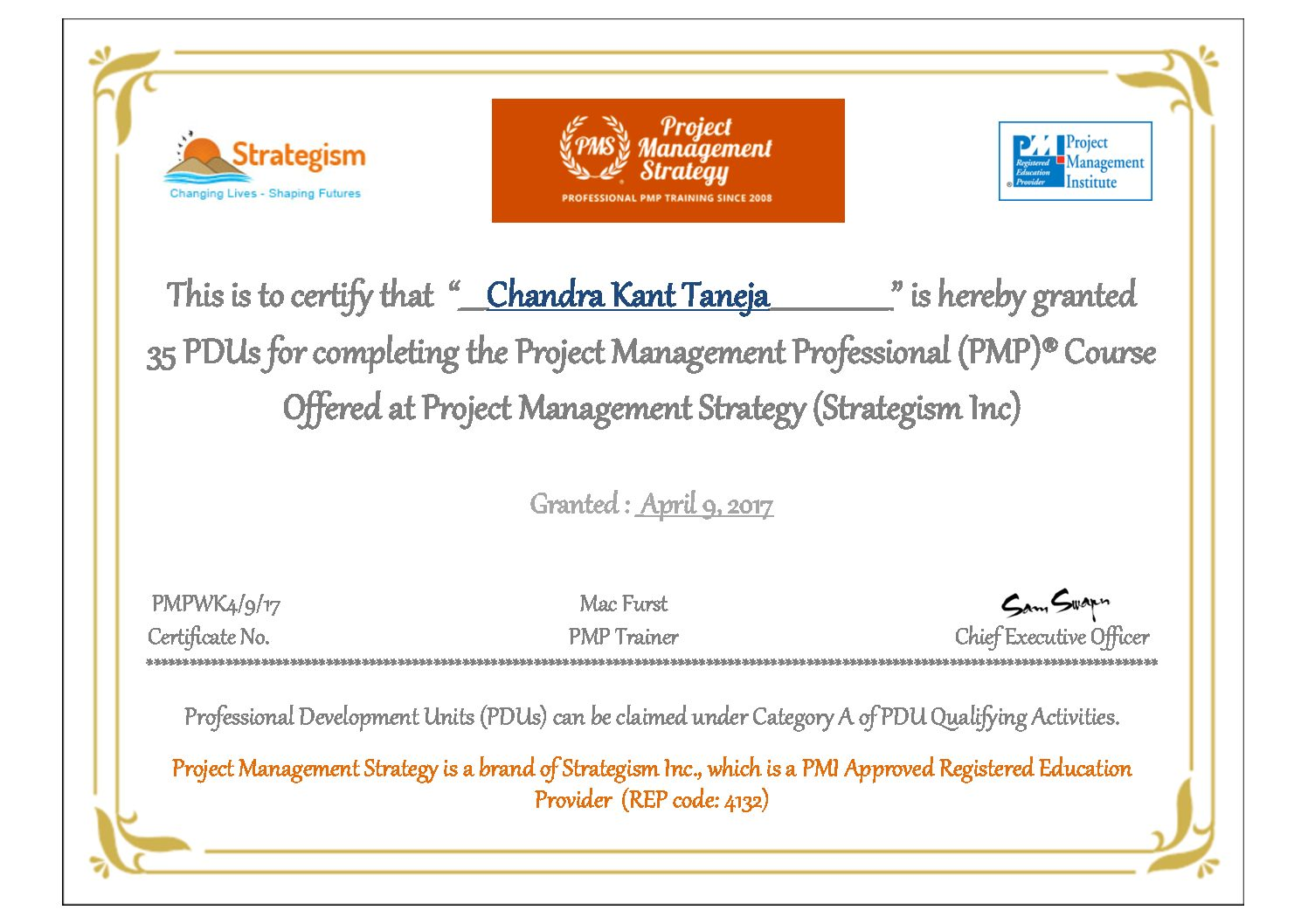 Certificates pmp certification training 1betcityfo Image collections